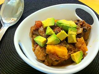 Southwest Butternut Squash Chili