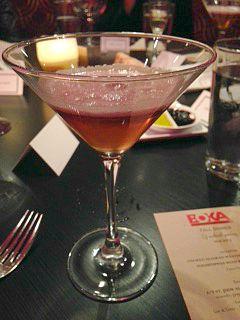BOKA Black Tea Martini