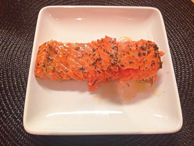 Lavender and Basil Salmon