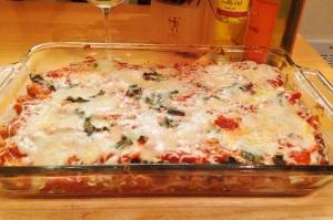 Eggplant Lasagna/Bulldogs and Brown Sugar