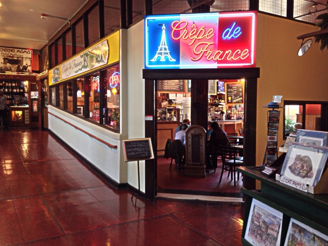 crepe de france, pike place