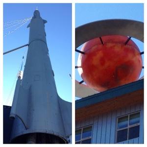Fremont Rocket Saturn
