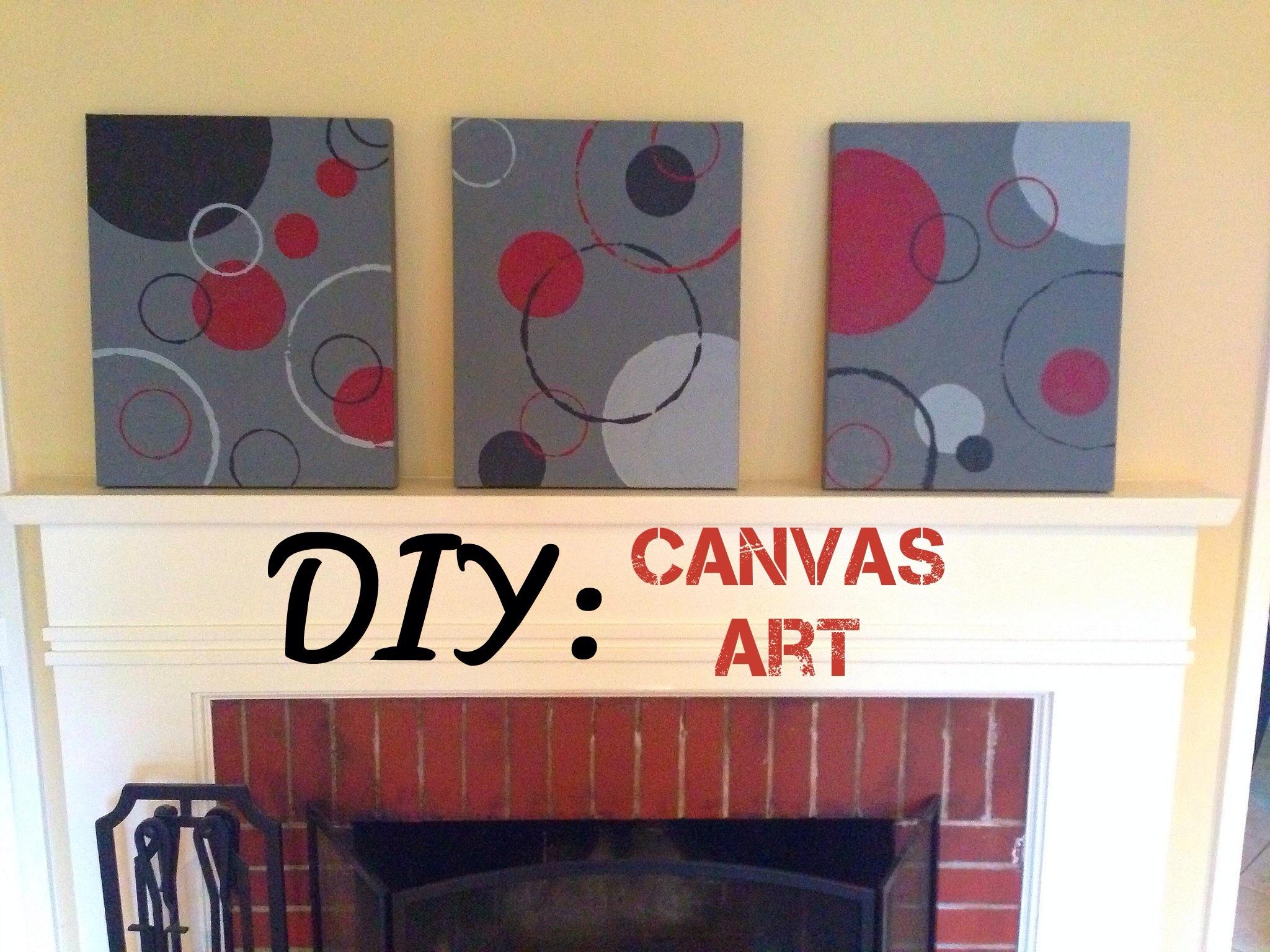Diy Canvas Art Part - 41: DIY Canvas